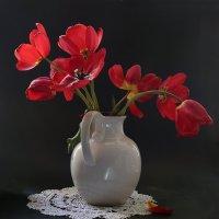 Красные тюльпаны :: Татьяна Карачкова