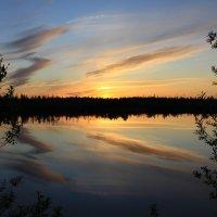 Северный закат :: Юрий Захаров