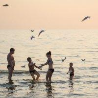 закат на море :: Ирина Сафонова