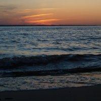 Закат над Горьковским морем :: Михаил Юрьевич