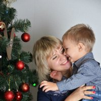 Мама с сыном :: Вероника Полканова