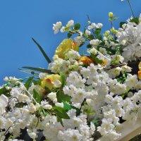 фрагмент цветочной арки :: Валентина. .