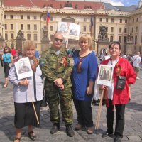"""""""Бессмертный полк"""" в Праге.2016. :: Marina Mikhailova"""