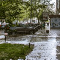 Дождь, вот и все, что удалось снять. :: cfysx