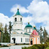 Троицкий храм поселка Дачный (Липецк) :: Светлана Челядинова