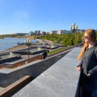Набережная Иртыша в начале мая. :: Anna Gornostayeva