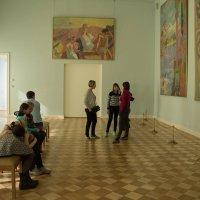 В музее :: Alena Cyargeenka