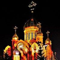 Ночной храм :: Сергей Чиняев