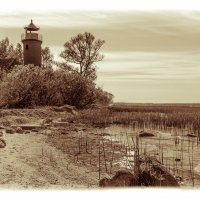 "Маяк ""Rinderort"" на берегу Куршского залива в Labagienen :: Игорь Вишняков"