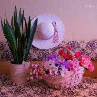 Корзина с цветами :: Nina Yudicheva