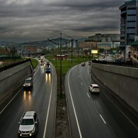 Вечер, дождь, Владивосток :: Эдуард Куклин