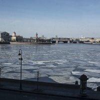 Ледоход на Неве (март) :: Владимир Фомин