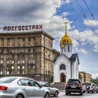 """Часовня святого Николая, на """"Красном проспекте"""" :: Сергей Смоляков"""