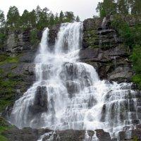 Водопад Твиндефоссен :: Nelly Lipkin