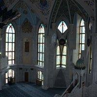 Молитвенный зал мечети Кул-Шариф. Казанский кремль :: Елена Смолова