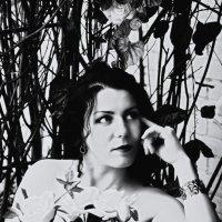 Портрет под ретро :: Ольга Хорьякова