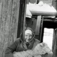 Бабушка моя, Ефросинья Сергеевна, 1990 год. :: Евгений Золотаев