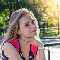 В парке в летний день :: Валерий Бочкарев