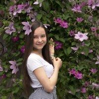 Климатис в цвету! :: Светлана Диль