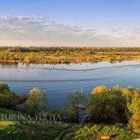 Река Великая в деревне Писковичи :: Юлия Батурина