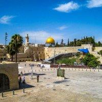 Иерусалим. Старая площадь. Стена Плача. Израиль. :: Rafael