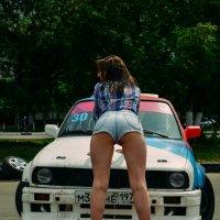 Girl & BMW E30 :: Анастасия Жигалёва