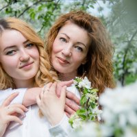 С мамой :: Анастасия Махова
