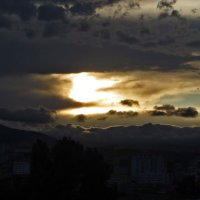Закат одного дня :: Наталья Джикидзе (Берёзина)