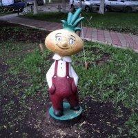Сказочные герои появились на наших детских площадках и это очень хорошо! :: Ольга Кривых