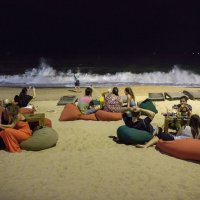 Новогодняя ночь на пляже Нячанга :: Виктор Куприянов