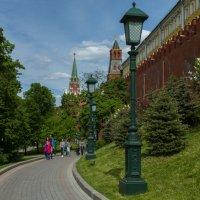 Башни Кремля. :: Yuri Chudnovetz