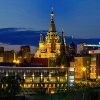 Город зажигает первые огни :: Владимир Максимов