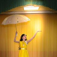 Девушка с зонтиком :: Сергей Крапивин