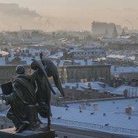 Морозные крыши :: Дмитрий