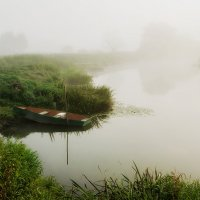 Туман на реке. :: Анатолий 71