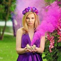 Розовый дым :: Татьяна Семёнова