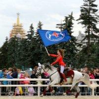 девушка и белый конь :: Олег Лукьянов