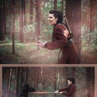 Медведица и Морок :: Мария Дергунова