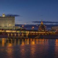 Новоарбатский мост (вечер) :: Борис Гольдберг