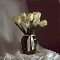 Тюльпаны белые... :: Гузель Т