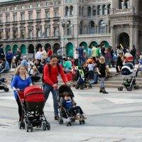 Воскресный день в Милане :: Наталия Рискина