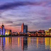 Казань, озеро Малый Кабан :: Виталий Авакян