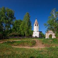 Церковь Успения Пресвятой Богородицы в селе Любец :: Nadin Keara