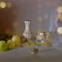 Три белые розы :: Наталия Лыкова