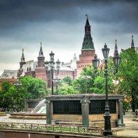 Москва из автобуса :: Андрей Куприянов