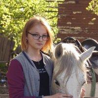На конных прогулках. :: Алена Григоревская