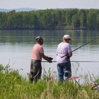 На рыбалке. :: Сергей Адигамов