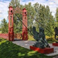 Красный мост. Усадьба Марьино :: Алена Сизова