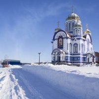 Метровый снег. Кемерово, март :: Edward Metlinov