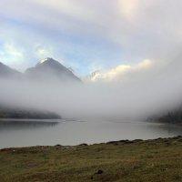 Утро на озере Аккем :: Виктор Кац